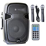 Ignite Pro 12'' Pro Series Speaker DJ / PA System Rechargeable Battery / Bluetooth Connectivity 1500W Peak Power