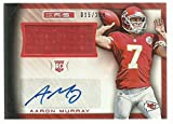 2014 Rookies and Stars Rookie Material Signatures #2 Aaron Murray NM-MT RC Rookie MEM Auto 5/299 Chi