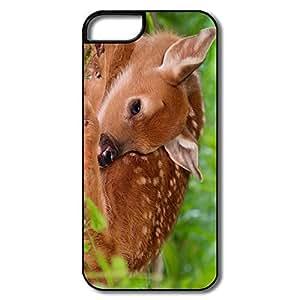 Custom Best Plastic Anti Slip Charming Deer Iphone 5 Cases by Maris's Diary