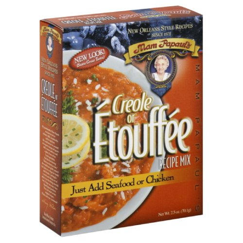 - Mam Papaul's Dinner Mix Etouffee Creole, 2.5-Ounce (Pack of 6)