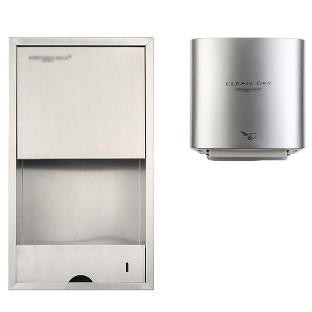 Secador de Manos Integrado de Secado Rápido para Uso Comercial, Baño, Hospital, 1200 Vatios, 32 X 31 CM: Amazon.es: Hogar