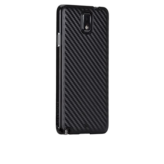 new product 524b1 9ff8e Case-Mate Carbon Case for Galaxy Note 3 - Black