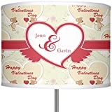 RNK Shops Mouse Love 13'' Drum Lamp Shade Polyester (Personalized)