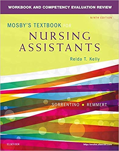 [0323319769] [9780323319768] Workbook and Competency Evaluation Review for Mosby's Textbook for Nursing Assistants 9th Edition-Paperback