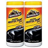 Armor All Car Wipes, Original Protectant, 25 Count, (Pack Of 2)