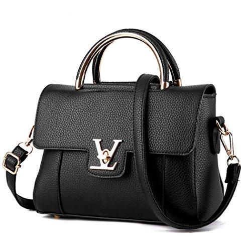 Hobo Black Handbag Messenger Tote Purse Leather Fashion Shoulder Lady Bag Women PU Hot 7w51qPTxX