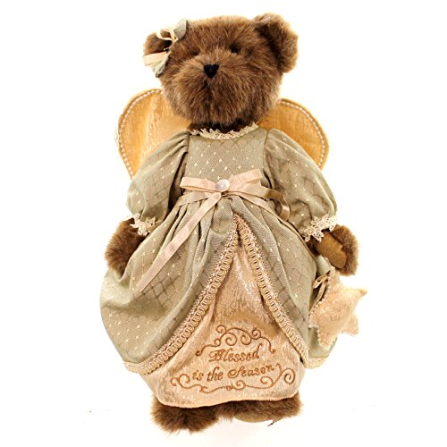 Boyds ANGEL BEAR HOLDING STAR Plush (Blessed Angelwish) 4019143