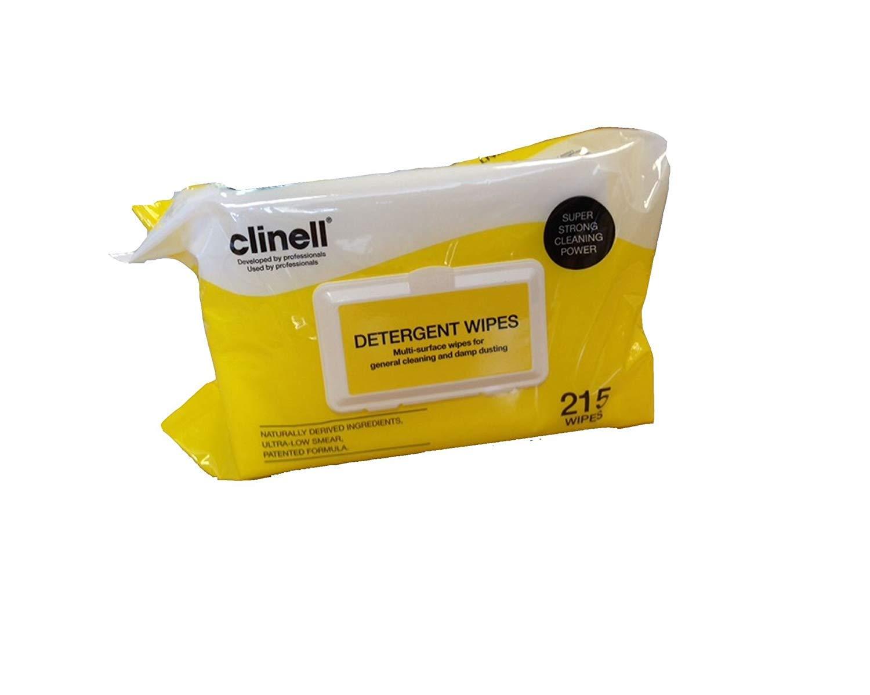 Clinell líquido toallitas limpiasalpicaderos con efecto mate (x 55 28 cm) paquete del de 200: Amazon.es: Salud y cuidado personal