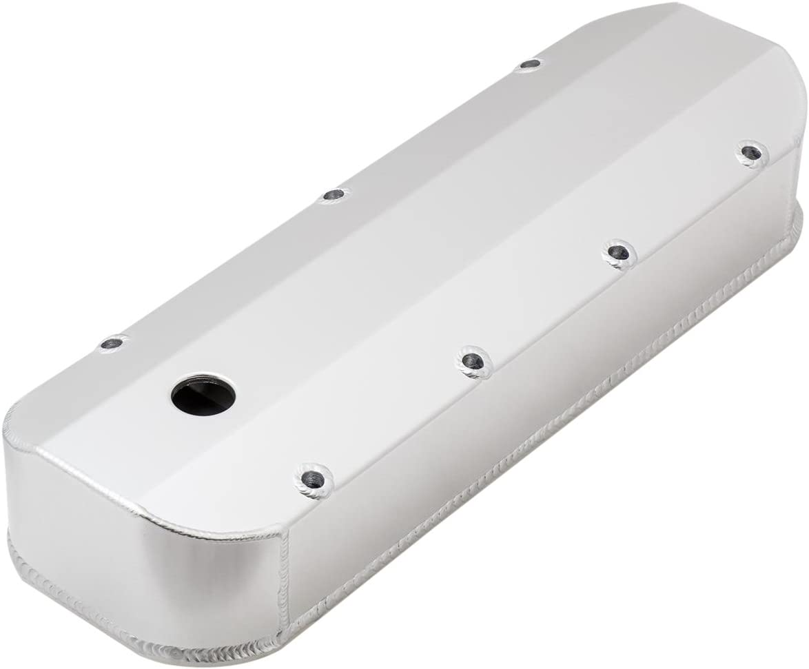 Top Street Performance JM8081-6CA LS1 Clear Anodized Fabricated Valve Cover Center Bolt with Breather Hole
