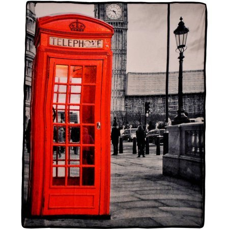 London Photo Real Throw Blanket, 50