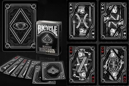 Amazon.com: Bicycle Blackout Kingdom Deck by Gamblers ...