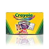 Crayola; Crayons; Art Tools; 96 ct.; Durable, Long-Lasting Colors, Built-in Sharpener