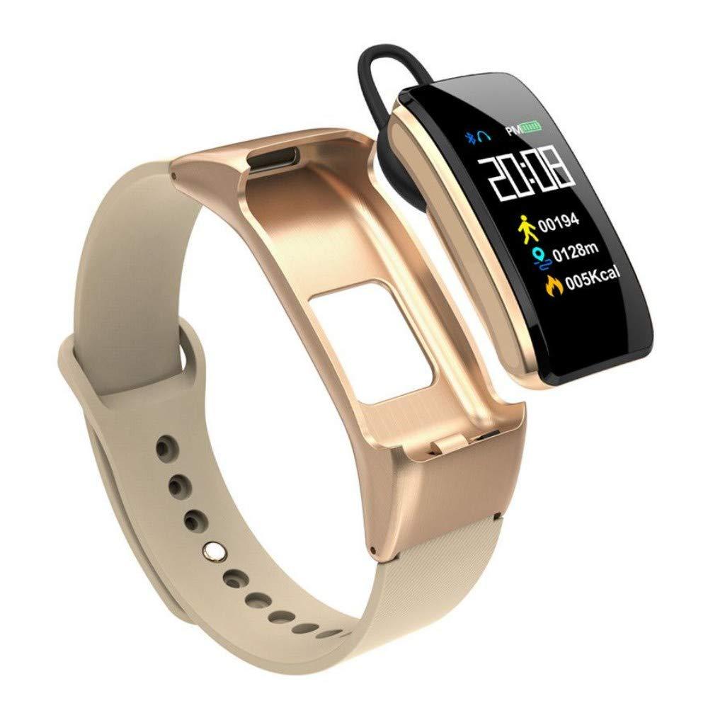 UTHDELD Smartwatch Pulsera Inteligente B31 con Auricular Bluetooth ...