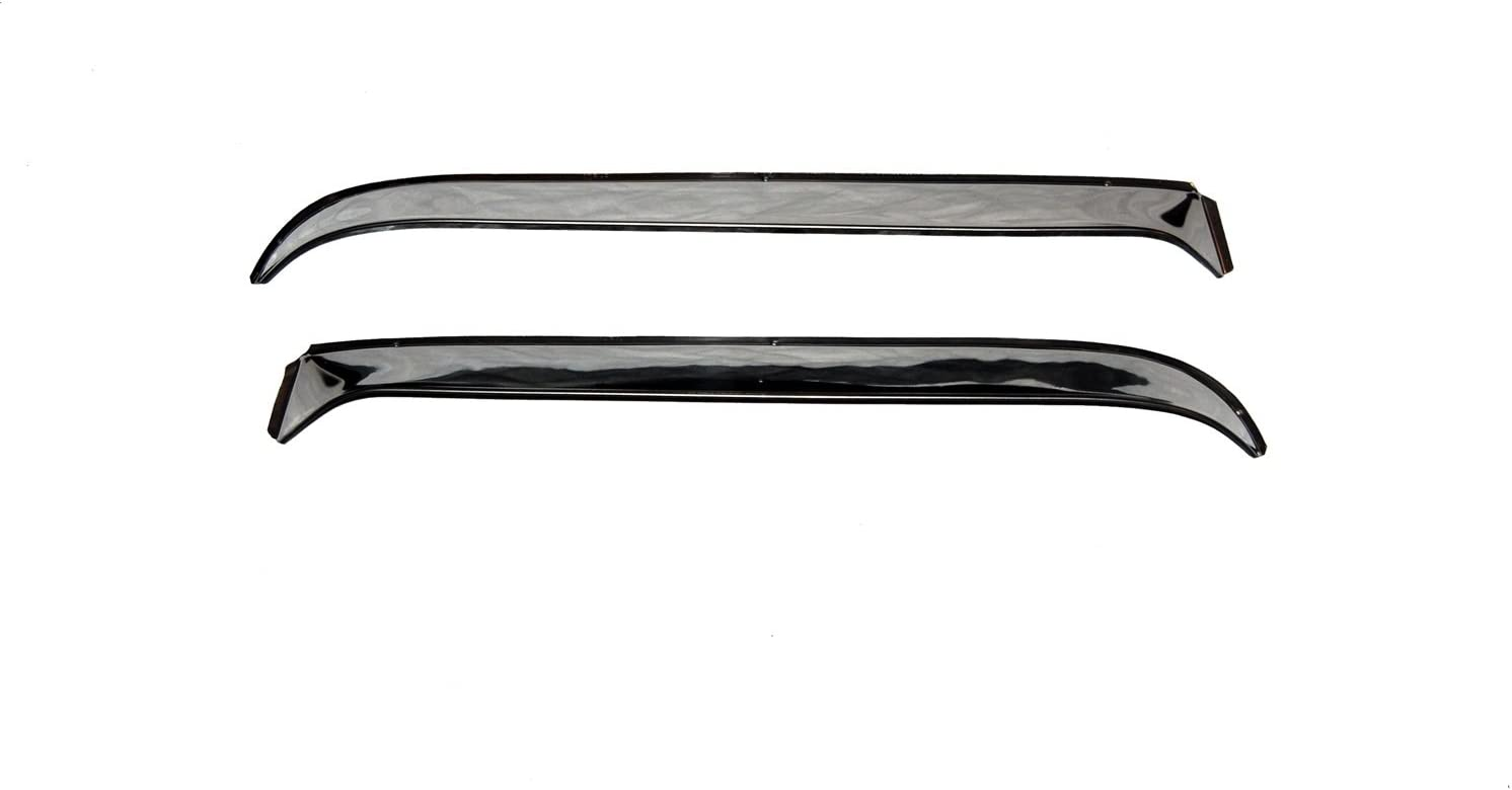 Auto Ventshade 12505 Ventshade with Stainless Steel Finish 2-Piece Set for 1965-1978 Volkswagen Beetle