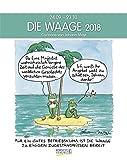 Waage 2018: Sternzeichen-Cartoonkalender
