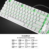 HUO JI E-Yooso Z-88 Mechanical Gaming Keyboard, Red