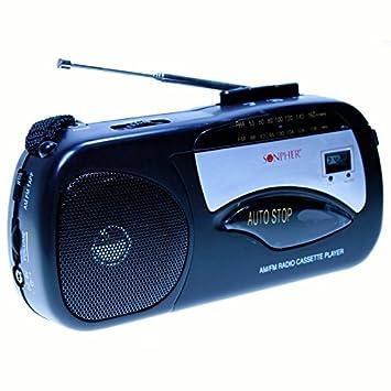 Sonpher SHC-300 - Radio Cassette Altavoz incorporado: Amazon.es: Electrónica
