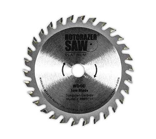 Official Rotorazer Platinum Replacement Blades (Set of 3 for Platinum Rotorazer) AS SEEN ON TV (Double Blade Saw As Seen On Tv)