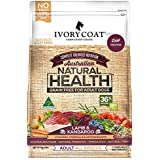 Ivory Coat Grain Free Lamb and Kangaroo Dog Food, Adult and Senior, 2kg