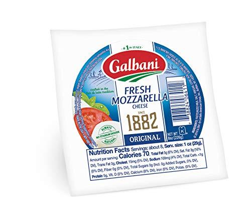 Mozzarella Fresca, Fresh Mozzarella Cheeseball, 8 - Part Skim Mozzarella