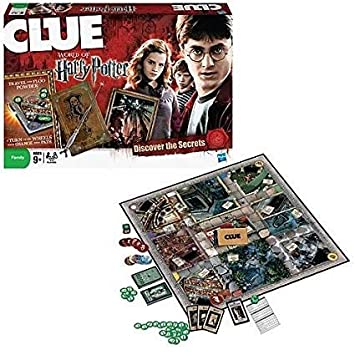 24x7 eMall Harry Potter Cluedo The Classic Mystery Game (Red)