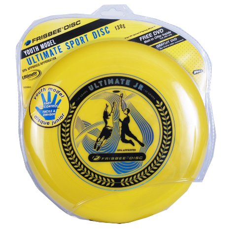 Pro Classic Frisbee - Wham-o Ultimate Frisbee Jr. 130g (Colors Vary)