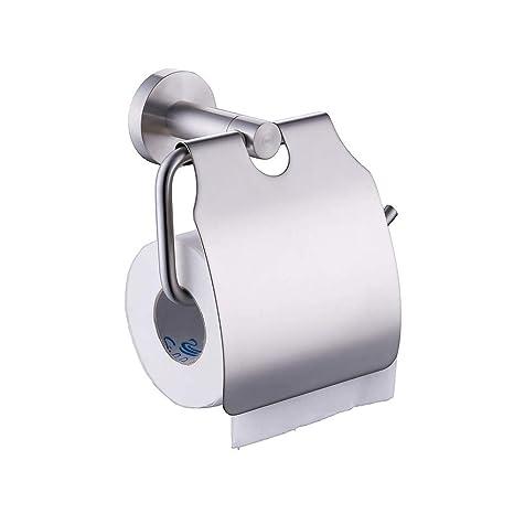 YEYEIG Caja de pañuelos, Papel higiénico, Porta Toallas de Papel de Acero Inoxidable 304