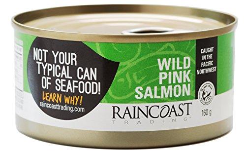 Raincoast Trading Wild Pink Salmon (Pack of 12)