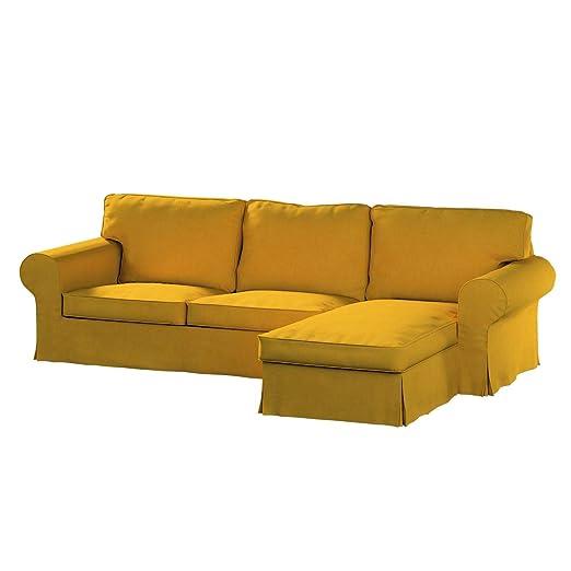 Dekoria Fire retarding IKEA EKTORP 2 plazas Sofá con Chaise ...