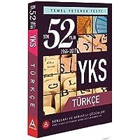 A Yayınları YKS TYT Türkçe Son 52 Yılın Çıkmış Soruları