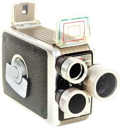 Halcon Parts Kodak Brownie Movie Camera Turret f/1.9 8mm Film