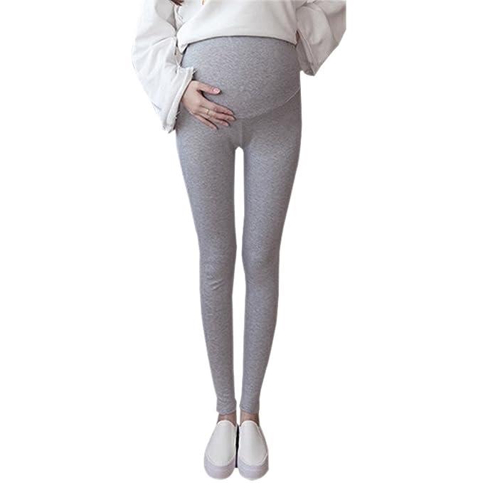 ZEVONDA Maternidad Delgado Verano Leggings Mujeres Pantalones Fashion