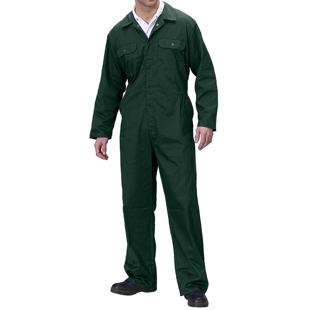 British Designed Green Boilersuit Coverall Overalls Workwear Painting Decorating DIY