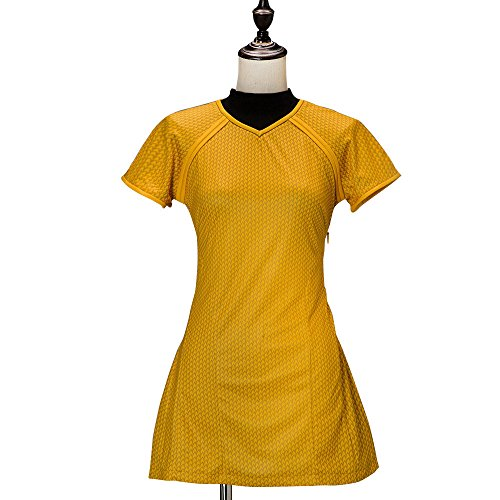 Mycos Star Trek Cosplay Costume Gold Into Darkness Marcus Uniform Dress