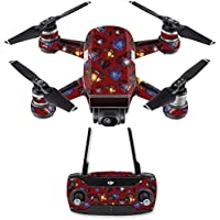 Skin for DJI Spark Mini Drone Combo - Diamond Galaxy| MightySkins Protective, Durable, and Unique Vinyl Decal wrap cover | Easy To Apply, Remove, and Change Styles | Made in the USA