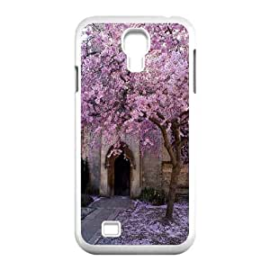 Qxhu Cherry tree Hard Plastic Cover Case for SamSung Galaxy S4 I9500