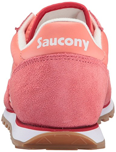 Saucony Jazz Low Pro, Scape per Sport Outdoor Donna Coral White