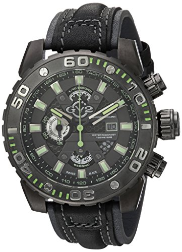 GV2-by-Gevril-Mens-1403-Polpo-Analog-Display-Swiss-Quartz-Black-Watch