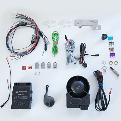 Vodafone Cobra Can Bus Alarm 46pro With Wire Harness Elektronik
