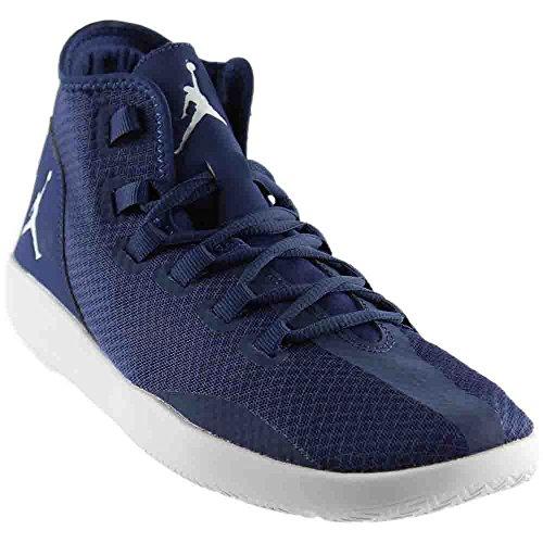 Nike Jordan Mens Jordan Reveal Mid Navy/Pr Pltnm Infrrd 23 Basketball Shoe 12 Men US