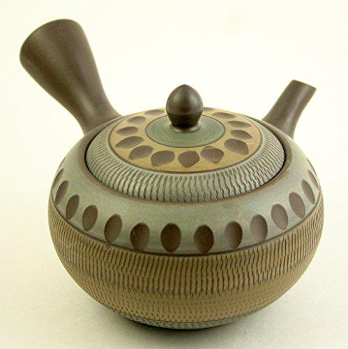 Japanese Teapot Tokoname Kyusu By Sho 14.2 Fl Oz