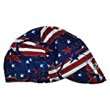 Lincoln Electric K3203-ALL All American Welding Cap Red White & Blues