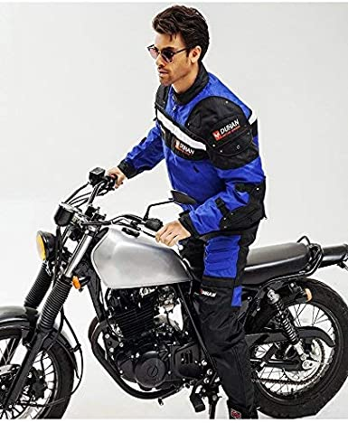 BORLENI Chaqueta de moto a prueba de viento motocicleta armadura de equipo de protecci/ón oto/ño invierno verano para hombre de toda estaci/òn