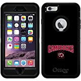 South Carolina - Gamecocks C design on Black OtterBox Defender Series Case for iPhone 6 Plus and iPhone 6s Plus