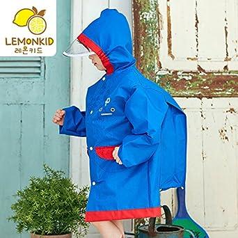 LEMONKID Kid Raincoats Boys /& Girls Raincoats Kid Snow /& Rainwear 3 to 15 Years Old LE0518