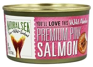 Natural Sea - Wild Alaska Premium Pink Salmon No Salt Added - 7.5 oz.99 pack of 2