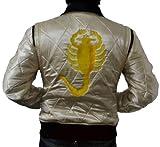 MSHC Drive Satin Quilted Scoprion Jacket Bomber Gosling (Large) Golden