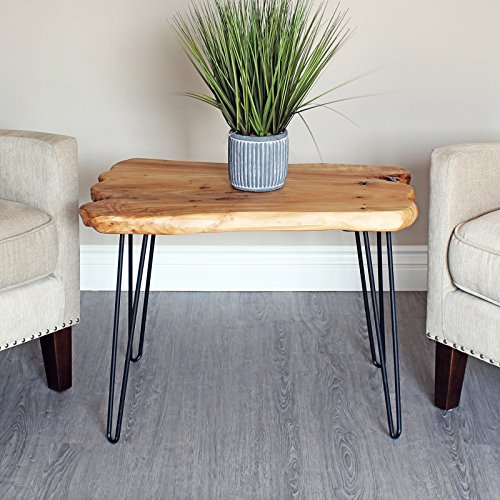 Set of 4 19'' Furniture Hairpin Metal Legs (19-inch) Heavy Duty Use for Wood Tabletop by WELLAND (Image #2)