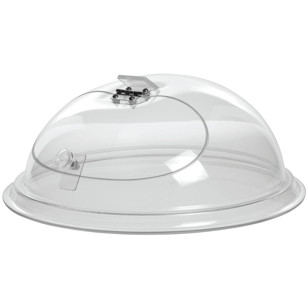 Cal-Mil Clear Acrylic Self-Closing Door in Dome -12''Dia x 7''H by ALC (Image #1)