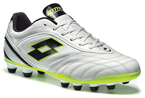 Blanc 300 pour potenza vI fG stadio chaussures de Lotto homme Noir football vwSgxqO